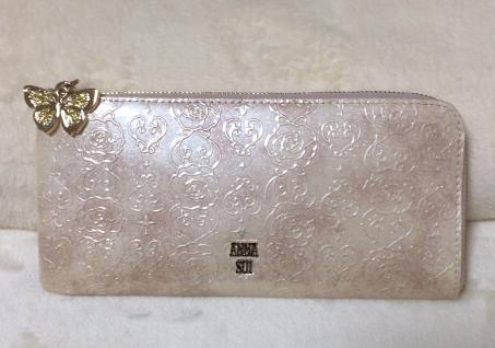【私物公開】ラッキーカラーの金運アップ春財布を購入しました・アナスイ(ANNA SUI)【風水】
