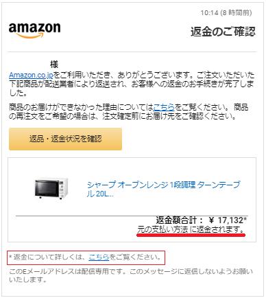Amazonで受取拒否する方法と返金処理の手順と日数