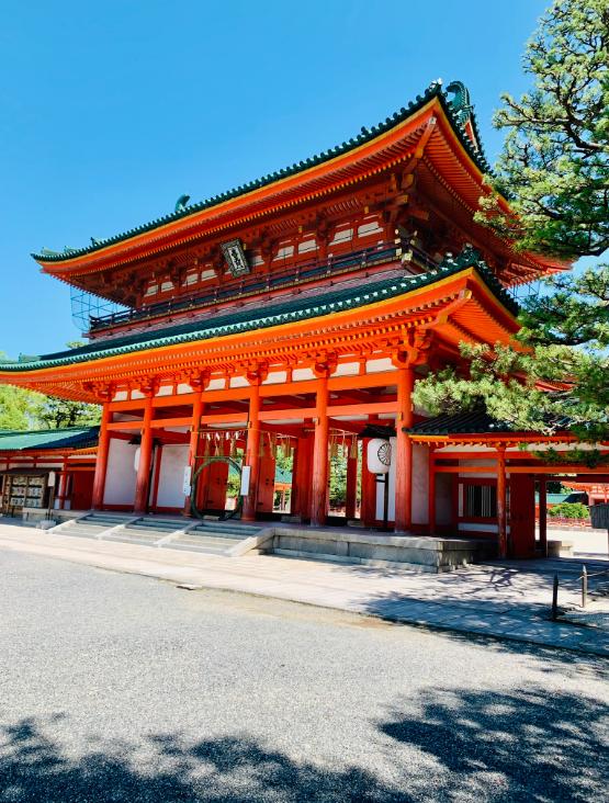 平安神宮の茅の輪くぐり(夏越しの大祓)に行ってきました。