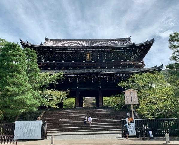 三門の特別公開で知恩院を参拝【京都観光】